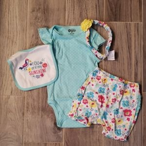Baby Girl 4 piece set